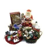35+ Pc Lot Christmas Holiday Ornaments Decorati... - $30.00