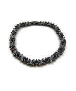 Modern Fashion Jewelry Chain Bracelet Dark Silv... - $20.00