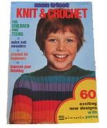 Vtg May 1974 Mon Tricot Crochet Knit PATTERNS C... - $15.00