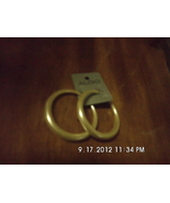 Aldo Cream Colored Hoop Earrings Retails $12.00 - $3.99