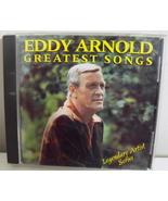 CD Eddy Arnold Greatest Songs Legendary Artist ... - $4.50