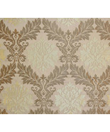 Parisian Jacquard Gold upholstery drapery fabri... - $19.95