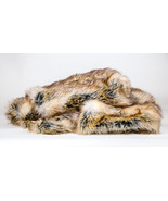 6ft by 5ft' Striped Fox Throw Blanket / Bed Spr... - $169.95