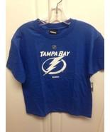 TAMPA BAY LIGHTNING NHL REEBOK BLUE YOUTH X-LAR... - $15.99