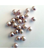 Lavender Faux Pearl Bead 6mm Lot of 25 Jewelry ... - $2.50