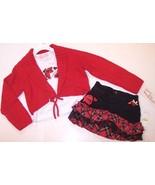 NWT Kids HQ Girl's 3 Pc. Holiday Scotty Scottie... - $22.99
