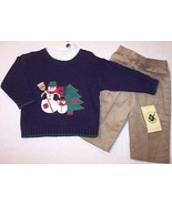 NWT Good Lad Boys 3 Pc Snowman Holiday Sweater ... - $15.99