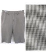 Walking shorts Wool bld 4 Brown houndstooth pla... - $32.99