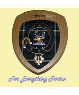 Clan Forbes Tartan Woodcarver Wooden Wall Plaqu... - $120.00