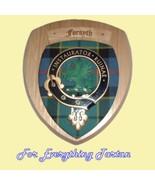 Clan Forsyth Tartan Woodcarver Wooden Wall Plaq... - $120.00