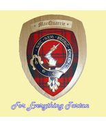 Clan MacQuarrie Tartan Woodcarver Wooden Wall P... - $120.00