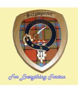 Clan Scrimgeour Tartan Woodcarver Wooden Wall P... - $120.00