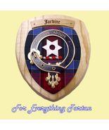 Clan Jardine Tartan Woodcarver Wooden Wall Plaq... - $120.00