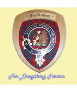 Clan MacKinnon Tartan Woodcarver Wooden Wall Pl... - $120.00