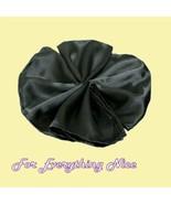 Black Satin Table Napkins Serviettes Decoration... - $35.00