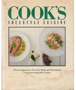 Cook's Freestyle Cuisine     Vintage Cookbook - $10.16