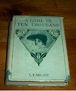 Old Antique Book A Girl in Ten Thousand L.T. Me... - $20.00