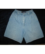 Ralph Lauren Blue Denim Cotton Walking Shorts Sz 8 - $5.00
