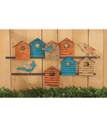 Feathered Friends Vintage Style Bird House Colo... - $103.90