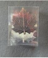 Metal Autumn Maple Leaf Better Homes Napkin Rin... - $3.99