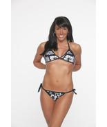Bikini Navy 2 piece women two-piece swimsuit 10... - $14.95