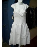 White Dress by Spenser Jeremy womens Summer Hal... - $19.95