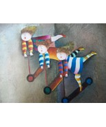 Toy Scooters Paint Canvas Painting Children Pla... - $69.95