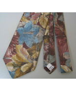 Hunting Horn Necktie mens tie Polyester floral ... - $11.50