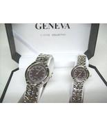 Geneva Quartz Classic Watch Designer Collection... - $12.95