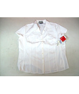 Button Blouse Style and Co Stretch Essentials W... - $15.65