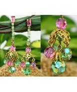 Vintage_aurora_borealist_pastel_crystal_bead_dangle_earrings_ab_clips_thumbtall