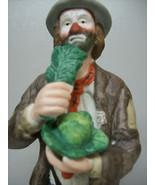 Flambro Emmett Kelly Jr Clown Figurine Sculptur... - $139.95