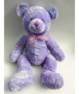Target Purple Teddy Bear Pink Heart Bow Plush S... - $34.98