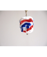 America Handmade Lampwork Bead Fan Lamp Pull ha... - $5.00