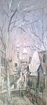 Sacre Coeur Montmatre Maurice Utrillo Print 16x20 - $21.55