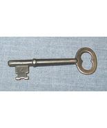 Number 4 Old Skeleton Key Steel Vintage Antique - $7.50