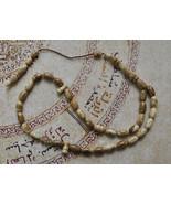 VERY Rare Beautiful Prayer beads-GRAY Coral-wor... - $94.05