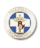 Pharmacy Technician Lapel Pin RX Caduceus Drug ... - $12.57