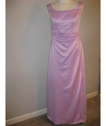 Eden Maids Gown Beautiful French Satin Lilac Si... - $68.00