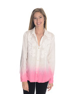 6 Paperwhite Anthropologie White/Pink Ombre But... - £23.79 GBP