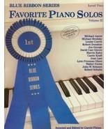 Blue Ribbon Series Favorite Piano Solos Level... - $5.95