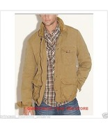 NEW Mens GUESS Jacket Rugged Coat Button Down C... - $78.00