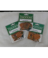 3 Packages of 3 Resin Garden Items, Flat Back C... - $5.99