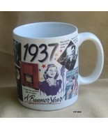 1937 A Banner Year Coffee Mug ....Celebrate 77 ... - $8.99