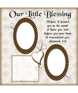 Our Blessing Digital Scrapbookng Quick Page Layout - $3.00
