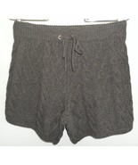 Madewell WALLACE sweater SHORTS brown cable KNI... - $70.04