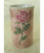 Once Upon a Rose, Vase/Utensil Holder, NIB - $19.00