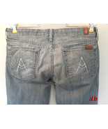 7 for all mankind JEANS A POCKET womens 28 DENI... - $40.28