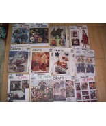 Lot 11 Assorted Sewing Patterns Craft & Costume... - $24.74