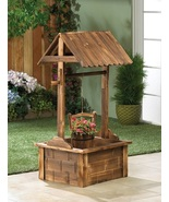 Wishing Well Planter Flower Pot Pavilion - $136.00